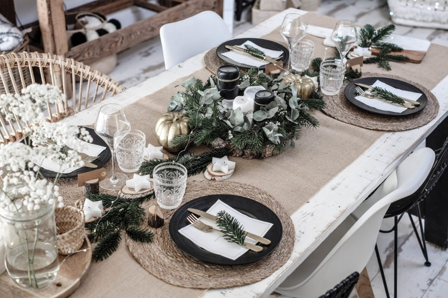 Ma Table De Noel Lisa Germaneau